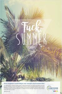 Fuck Summer (De Standaard Solidariteitsprijs)