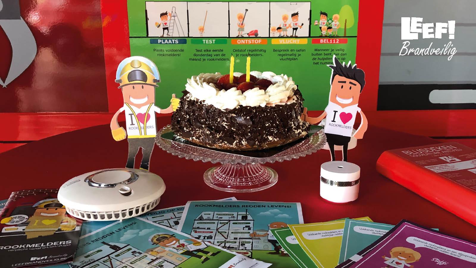 Leef Brandveilig viert zijn 2de verjaardag!