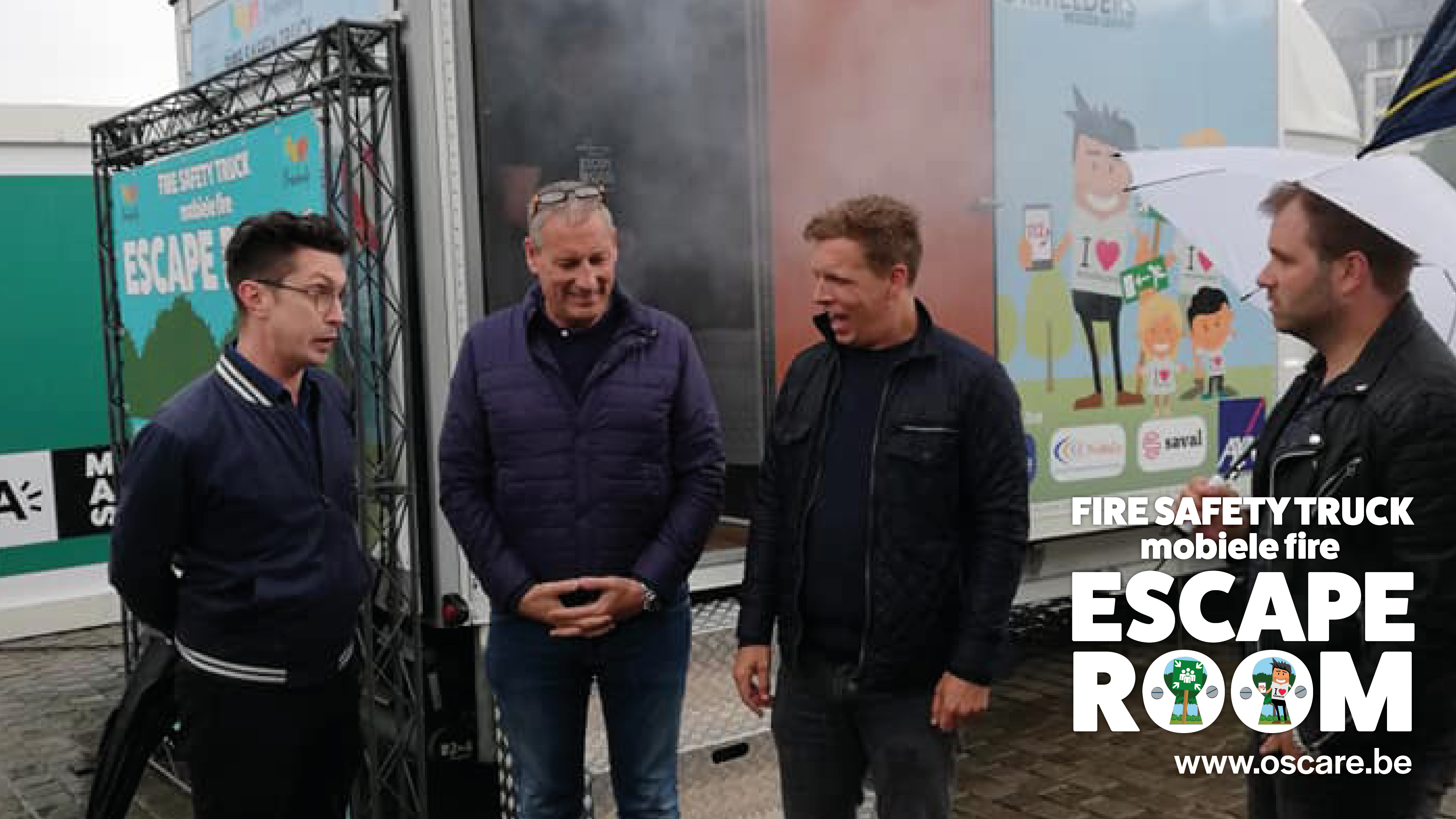 Fire Escape Room werd getest tijdens Gert Late Night