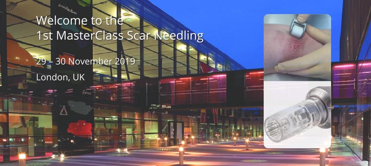 Eerste MasterClass Scar Needling
