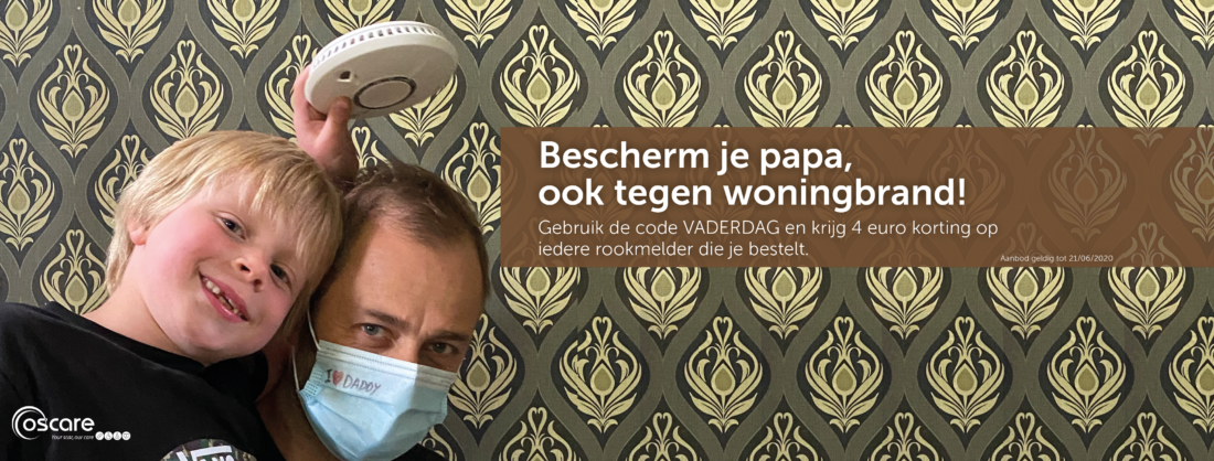 Bescherm je papa met rookmelders