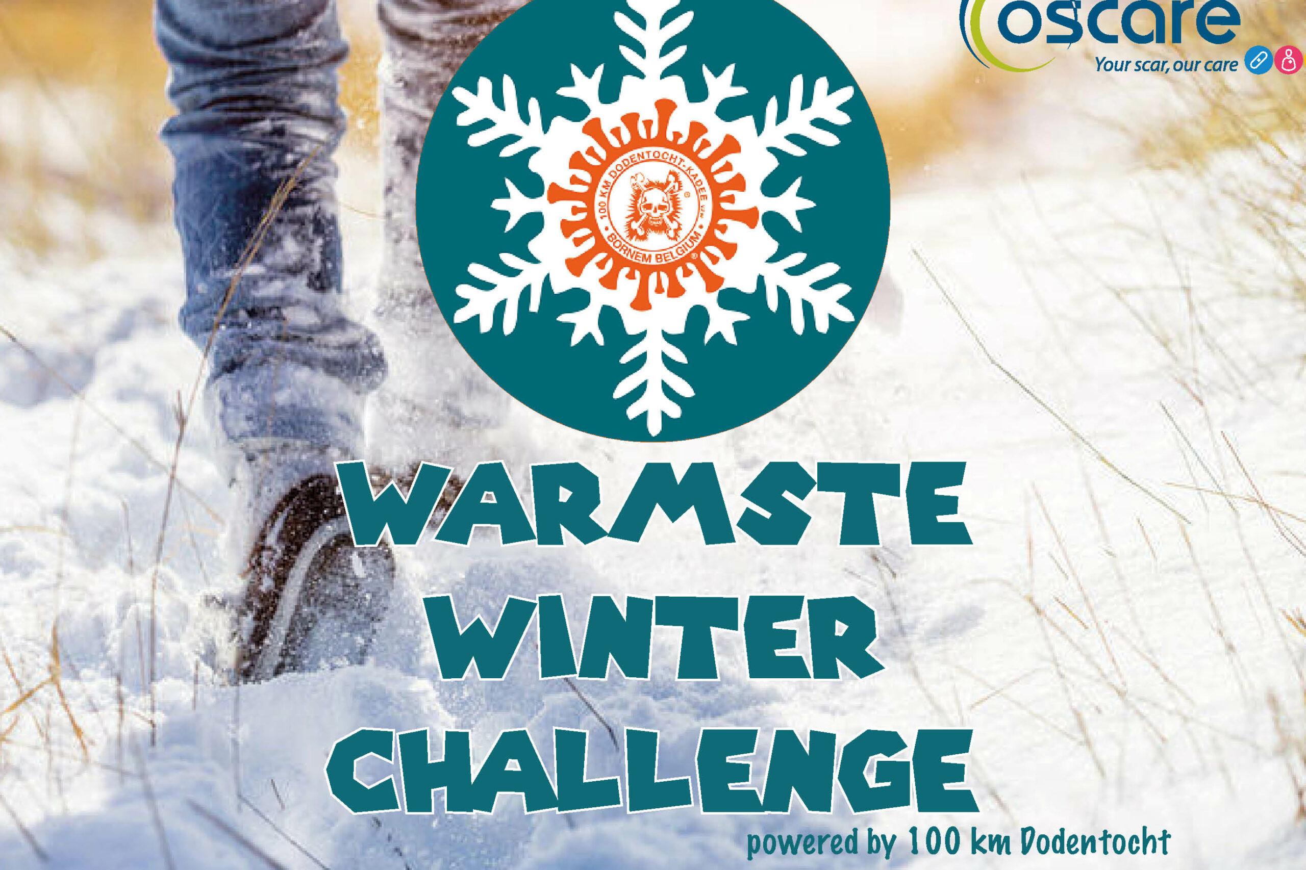 Warmste Winter challenge tvv Oscare vzw